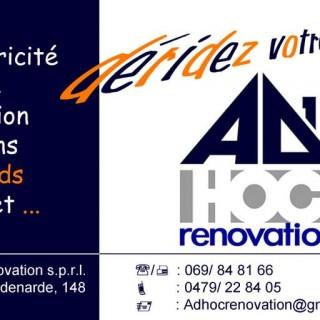 Ad Hoc Renovation
