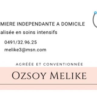 Ozsoy Melike - Infirmière indépendante à domicile