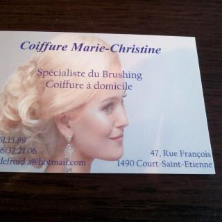 Coiffure Marie-Christine