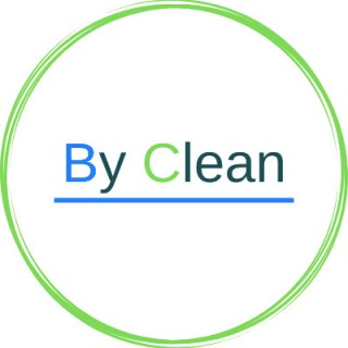 By clean