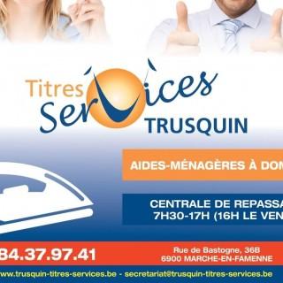 TRUSQUIN TITRES SERVICES SCRLFS