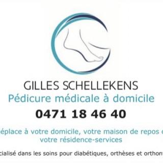 Gilles Schellekens pédicure médicale à domicile