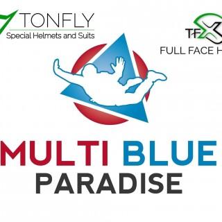 Multi Blue Paradise