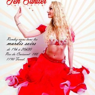 Cours de danse orientale avec Jen Sander