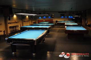 University Pool En Snooker
