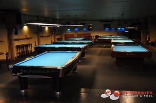 University Pool En Snooker