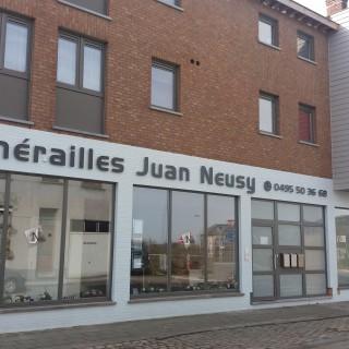 Funérailles Juan Neusy