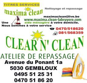 Maxima clean