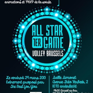 All Star Game Volley Bruxelles